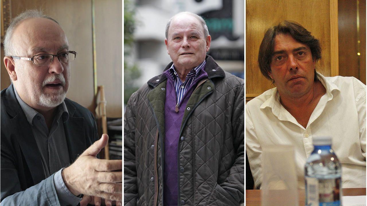 Feijoo acudió a la presentación de Aurelio Núñez como candidato del PP de Carballo.Isaac Vila, Antonio Fernández e Manuel Cabas, candidatos al PP de Xinzo