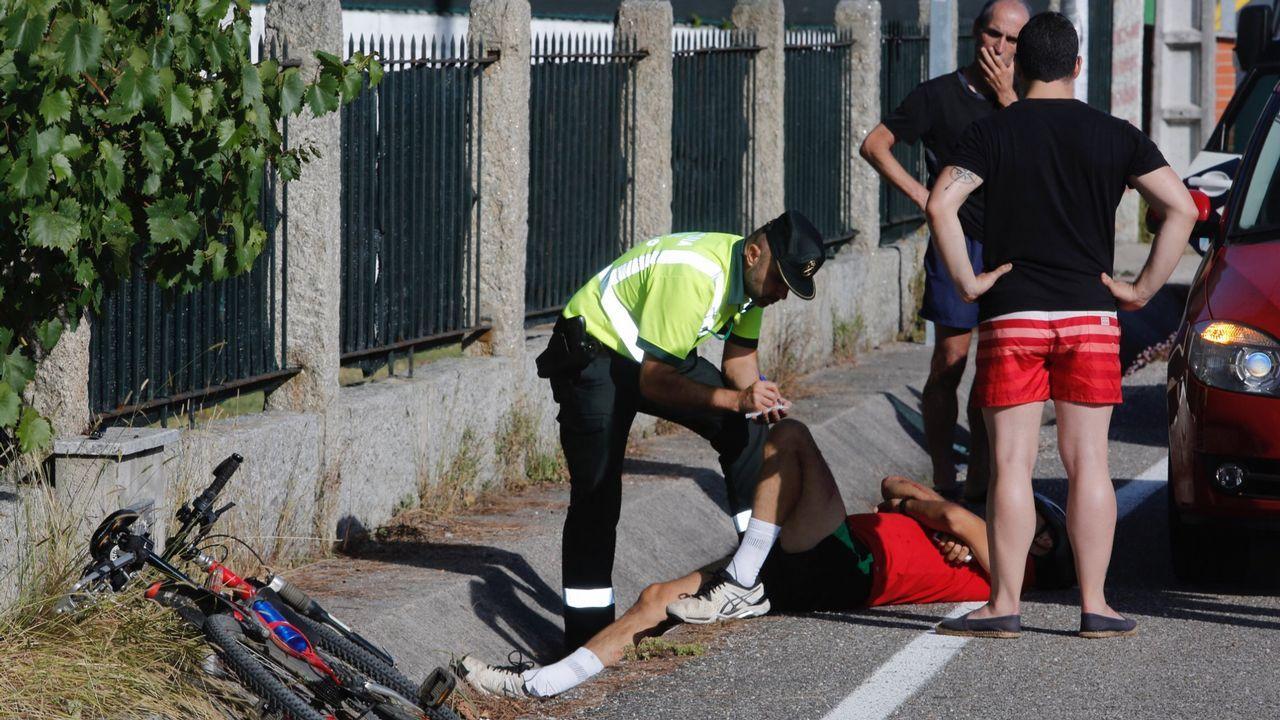 El ciclista agredido a martillazos, al camionero: «¿Qué haces? ¡Que me vas a matar!»