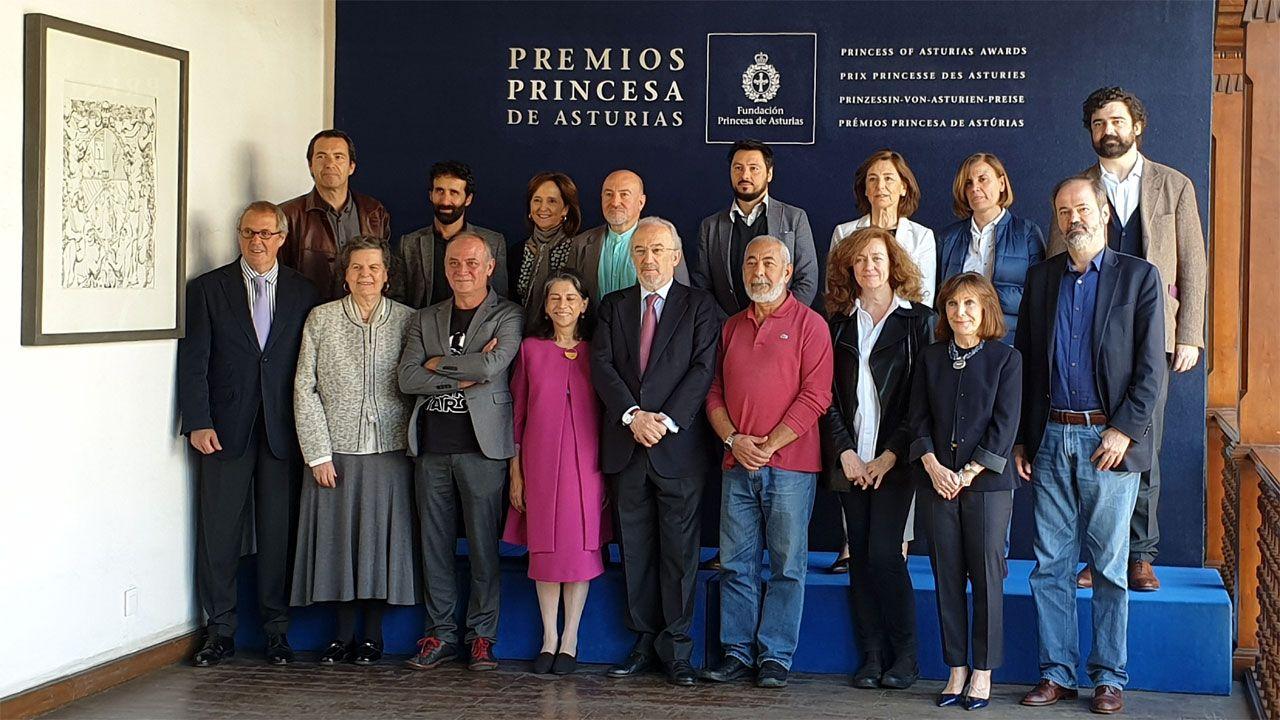 La Fundación Princesa suma apoyos.El jurado del Premio Princesa de Asturias de las Letras 2019