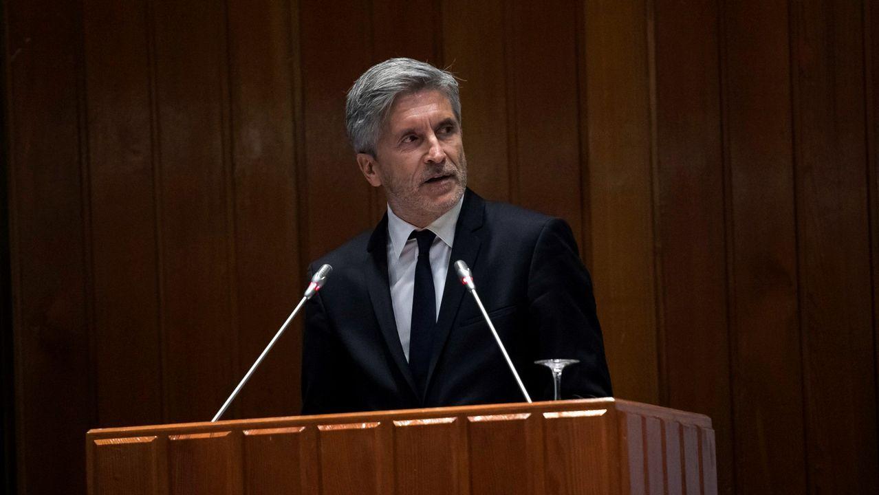 .El ministro del Interior, Fernando Grande-Marlaska