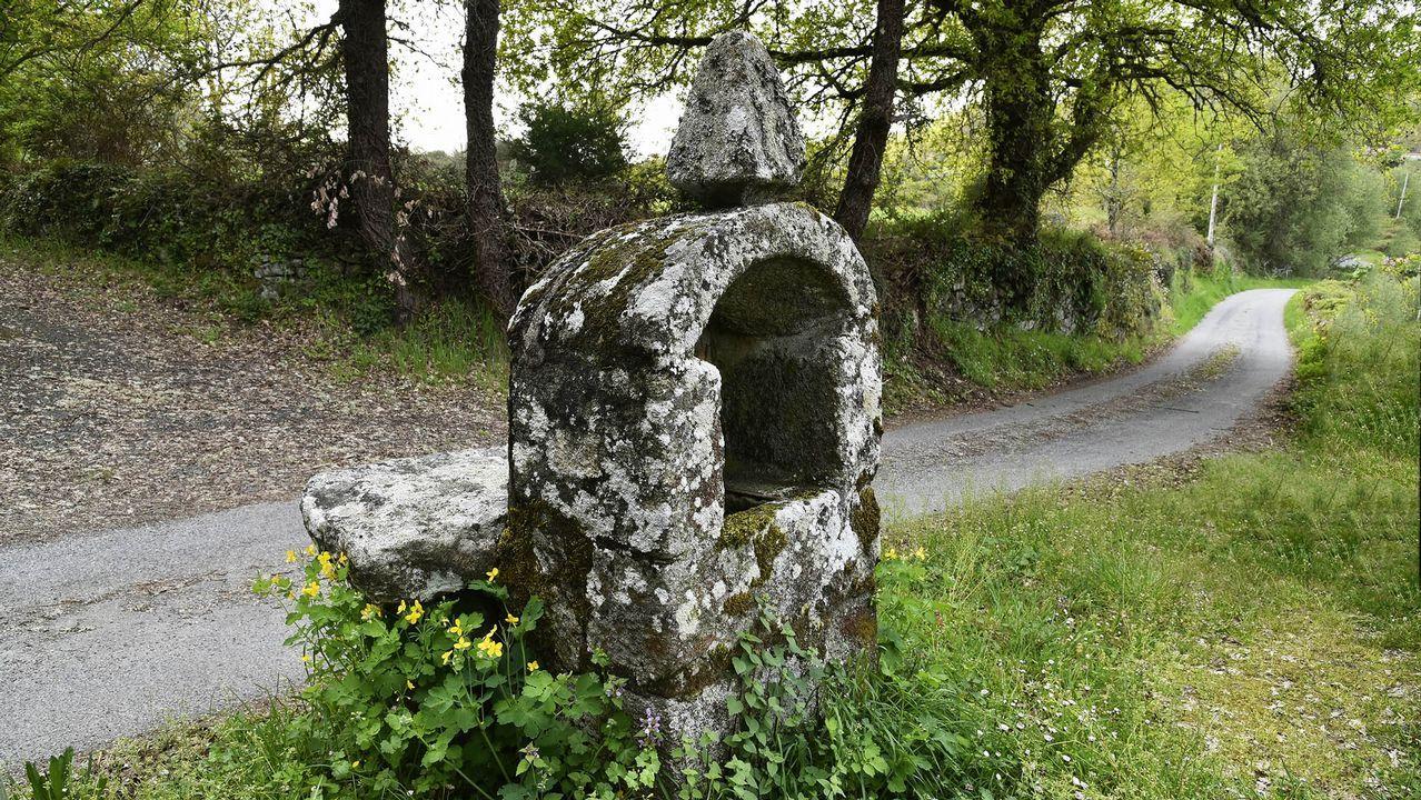 Peto de ánimas de Serode, uno de los que mejor se conservan en el municipio de Pantón