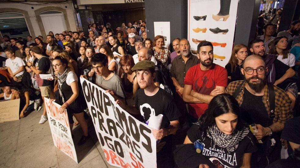 Manifestación de Lugo Sen Mordazas