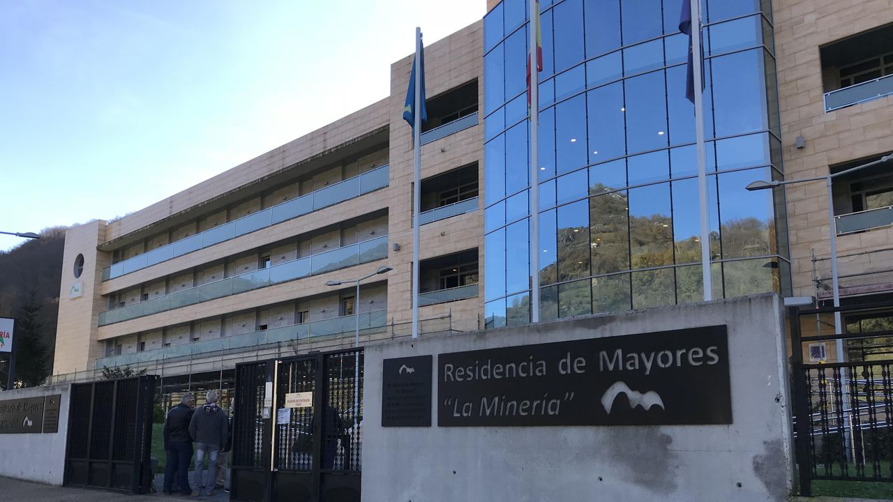 Cachopo elaborado con Ternera Asturiana IGP.Imagen de la residencia de ancianos de Felechosa