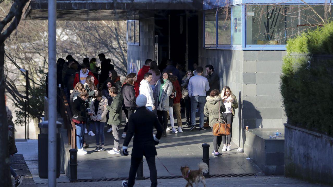 Medicina es una de las facultades con más estudiantes llegados de fuera de Galicia