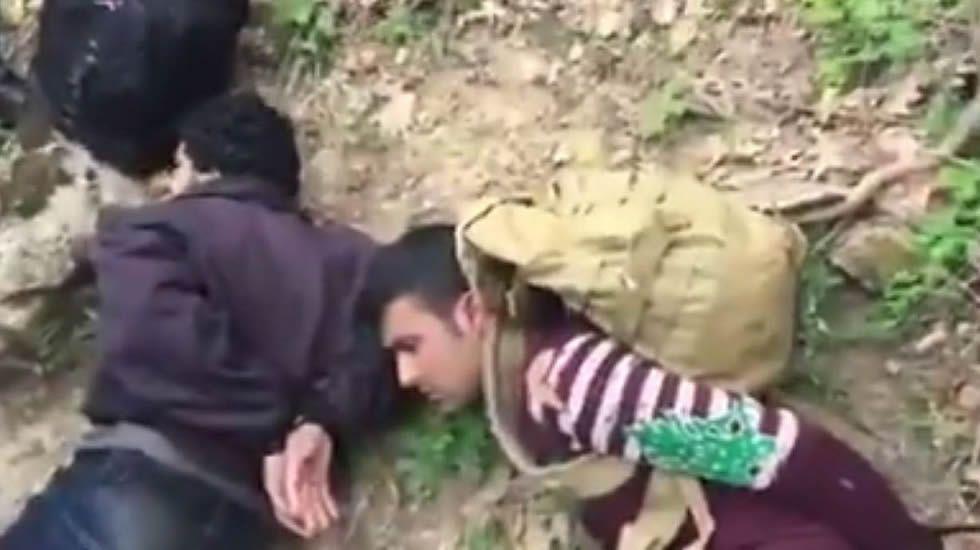 Así actúan los «caza-inmigrantes» en la frontera entre Bulgaria y Turquía.