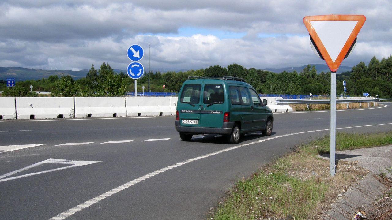 Zona cercana al accidente en la autopista AG-64