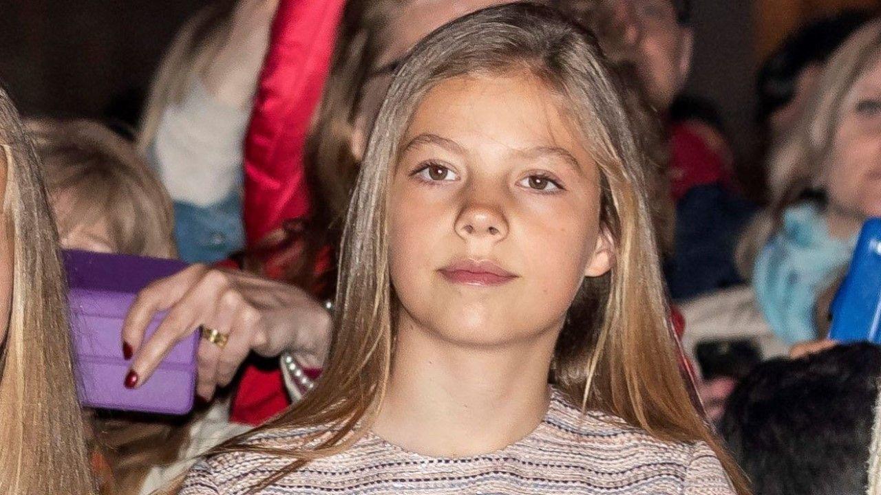 La infanta Sofía cumple 12 años