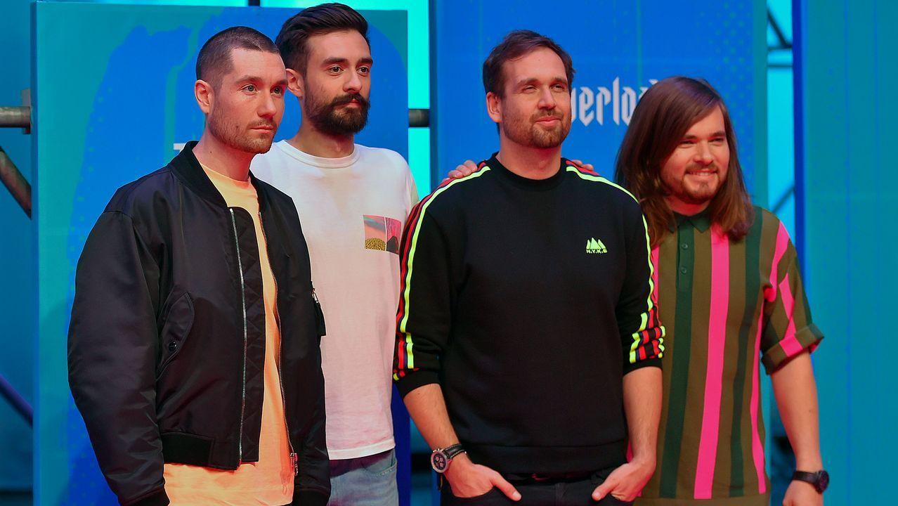La banda británica Bastille