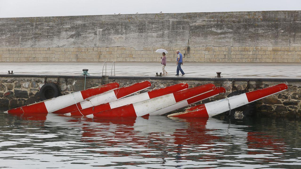 Un pescador italiano muere tras caer al mar en Espasante.Punta Langosteira