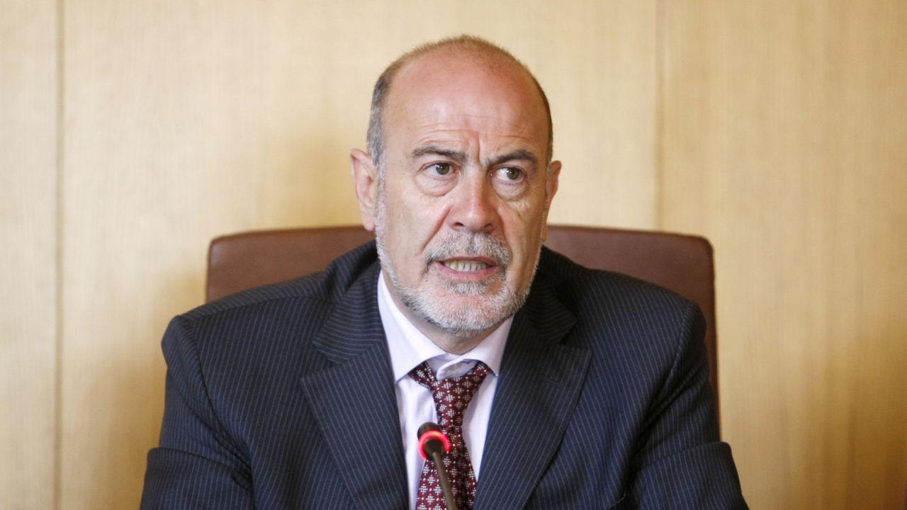 .Francisco García, alcalde de Allariz