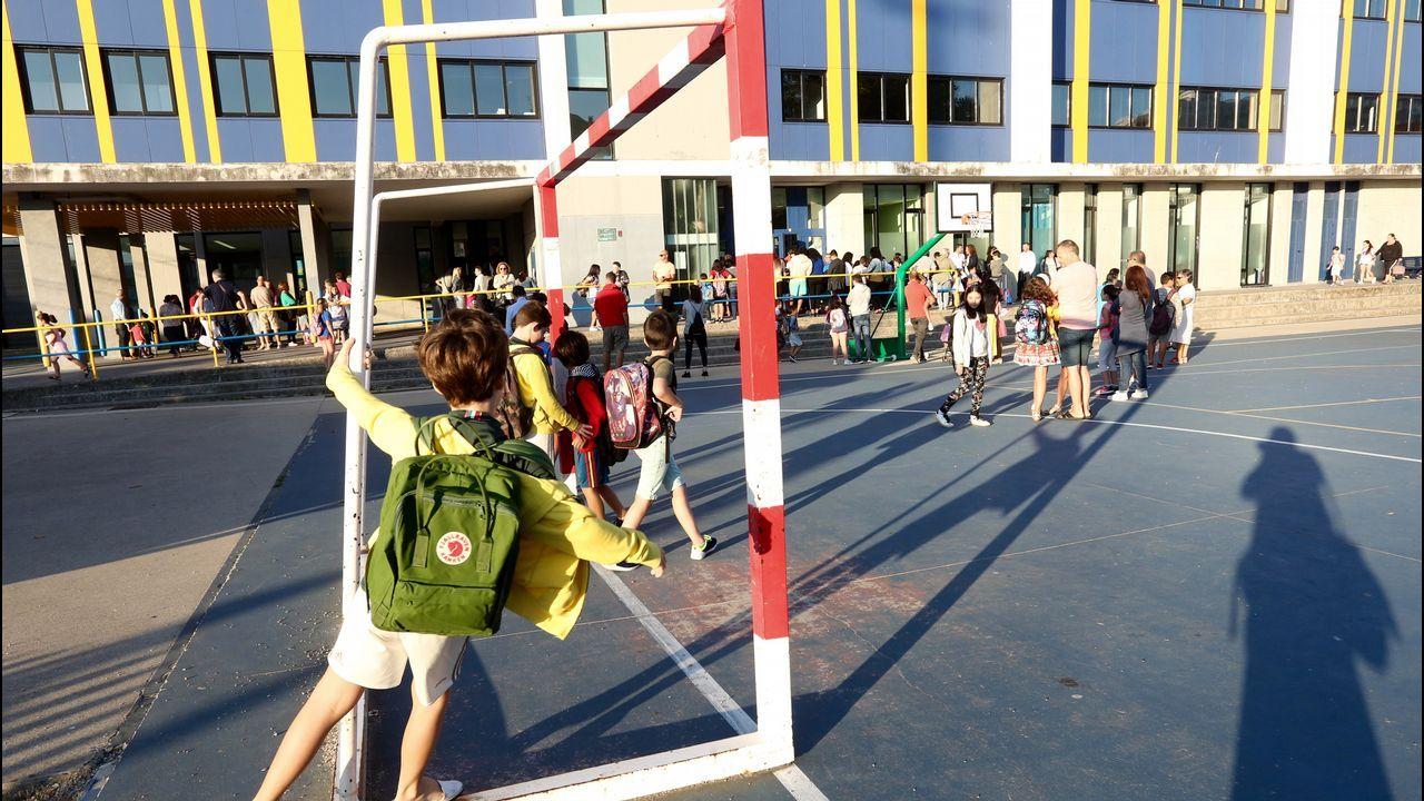 Vuelta al cole Colegio A Lomba en Vilagarcía