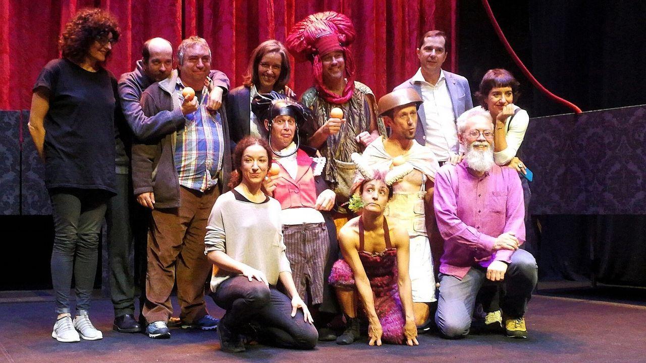 María Vázquez e Celso Bugallo, protagonistas de «Trote»