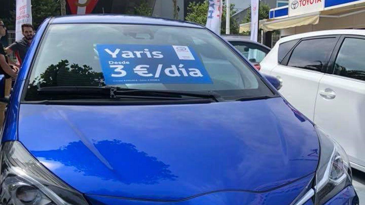 El estand y las ofertas de Toyota en la Feria de Muestras de Gijón
