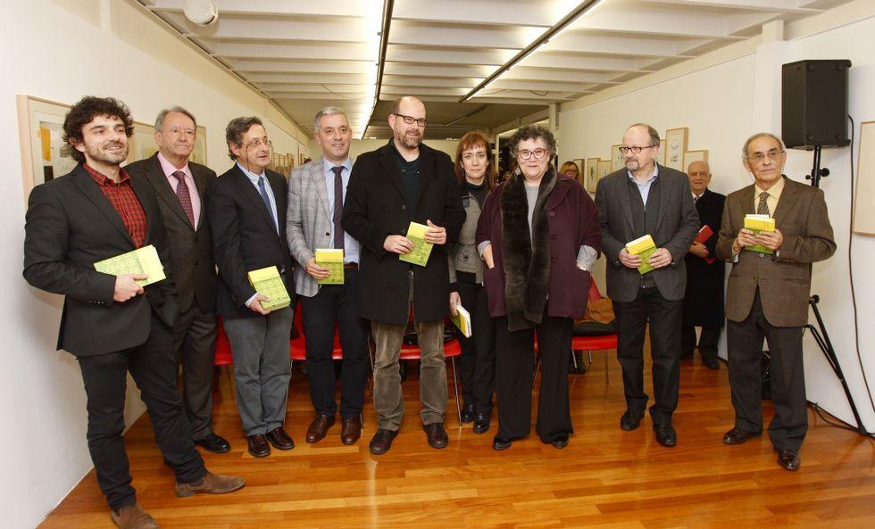 A edición en galego do libro de Filgueira Valverde foi presentada onte