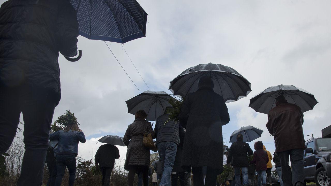 Gladys Vázquez.Preocupación por el estado de As Catedrais tras la muerte de una joven
