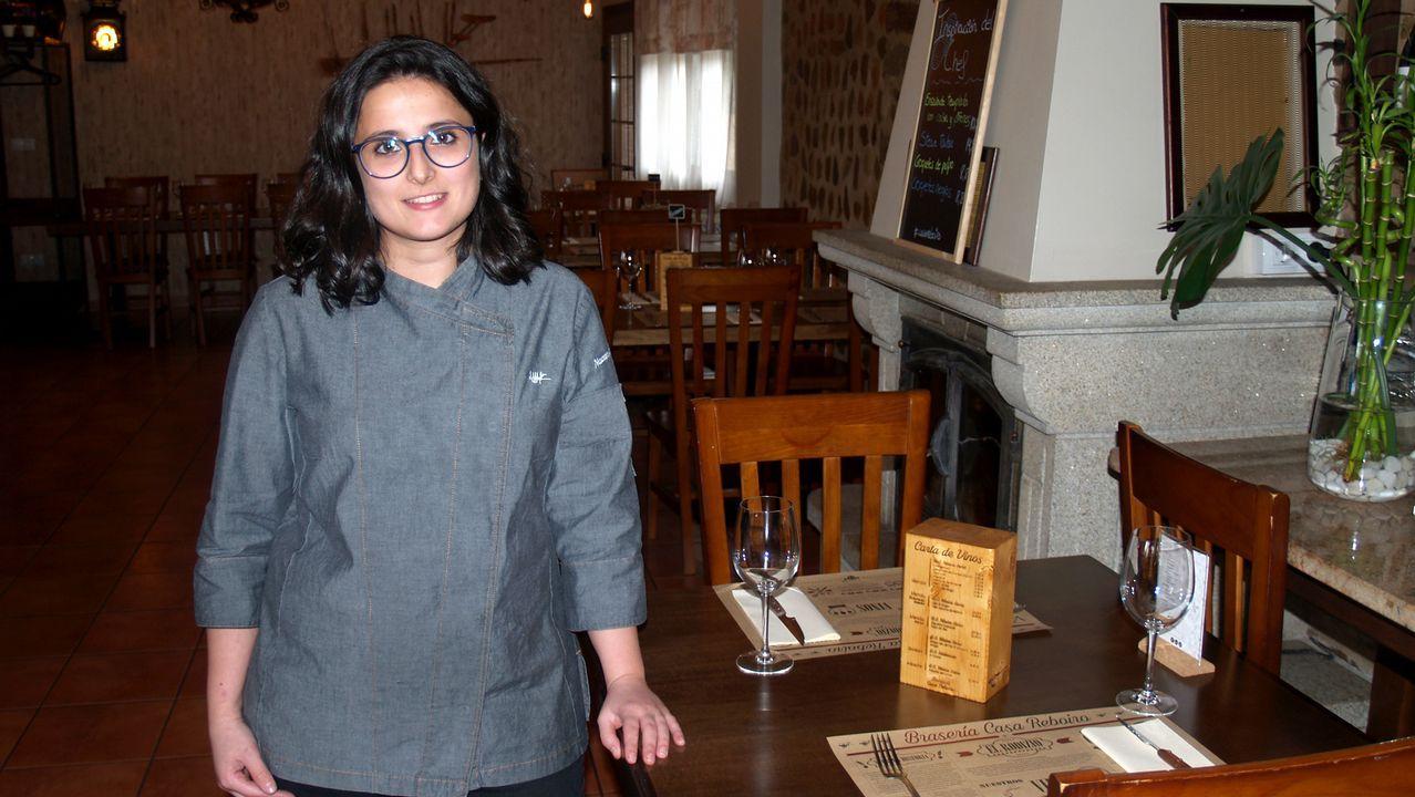 Nazaret Rodríguez, propietaria de Casa Reboiro en Monforte