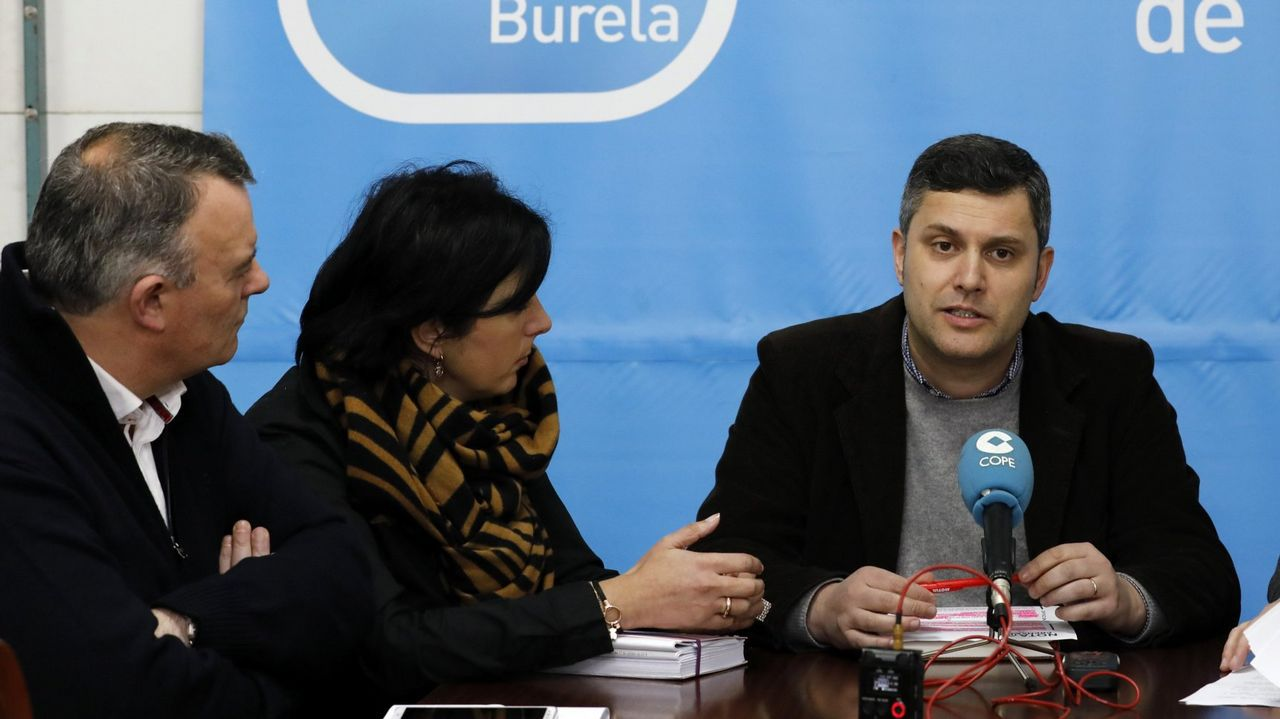 Silvia Clemente junto al coordinador regional de Ciudadanos, Luis Fuentes