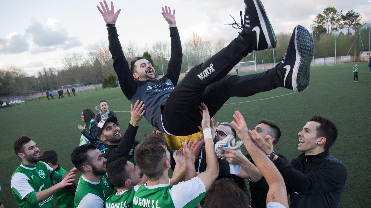El Coristanco se proclama campeón y lo celebra por todo lo alto: ¡las fotos!