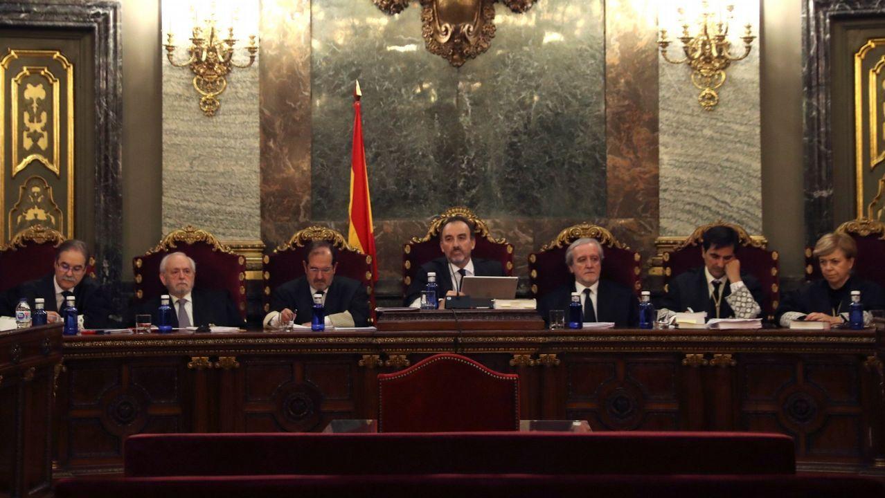 En directo y en streaming, el juicio del procés.El magistrado Manuel Marchena preside el tribunal de siete jueces del Supremo  que celebró el pasado 18 de diciembre la vista por las cuestiones previas del caso del desafío independentista