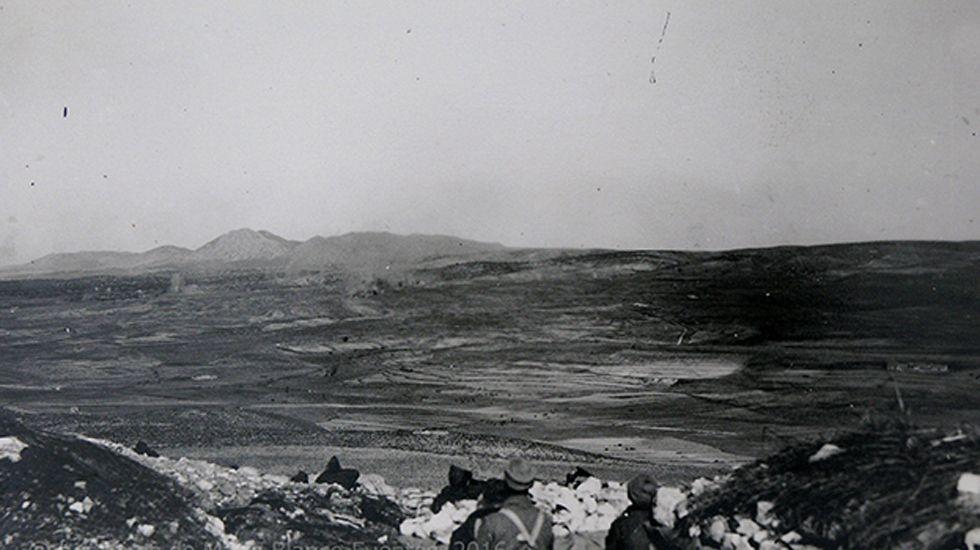 Ofensiva en el frente de Teruel. Sierra Palomera, 1938