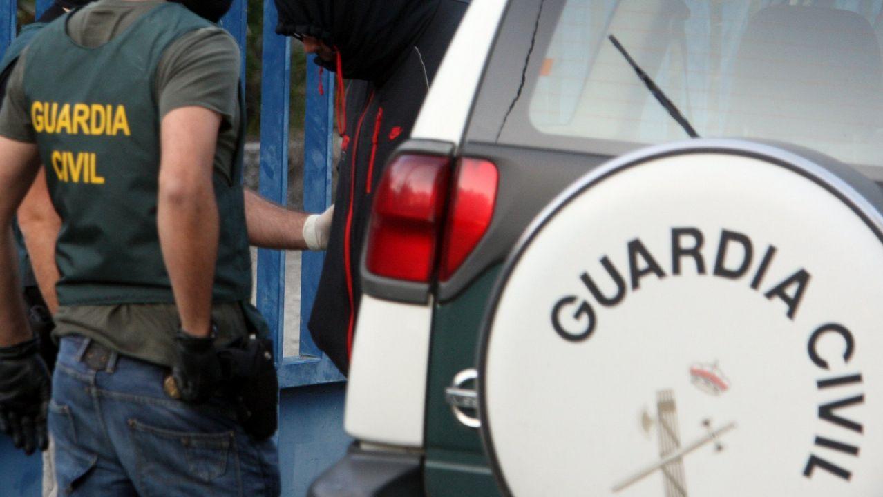 Agentes de la Guardia Civil en una imagen de archivo