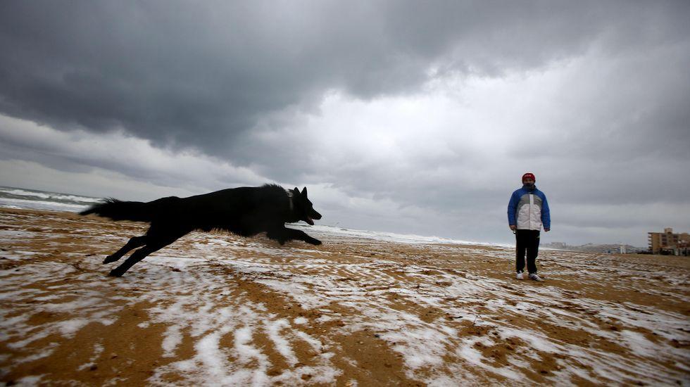 .Nieve en Torrevieja