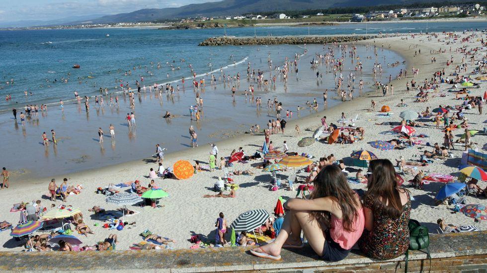 Foz. Playa de A Rapadoira