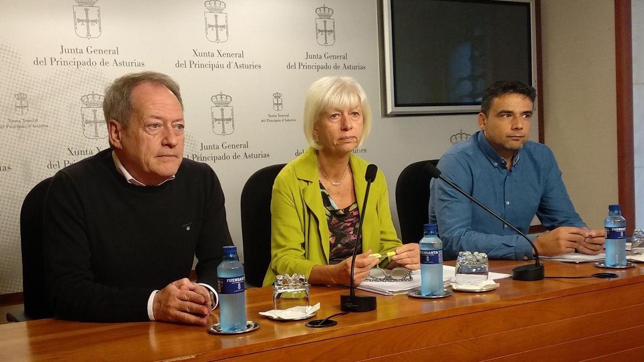 Aurelio Martín, Concha Masa e Iván Álvarez