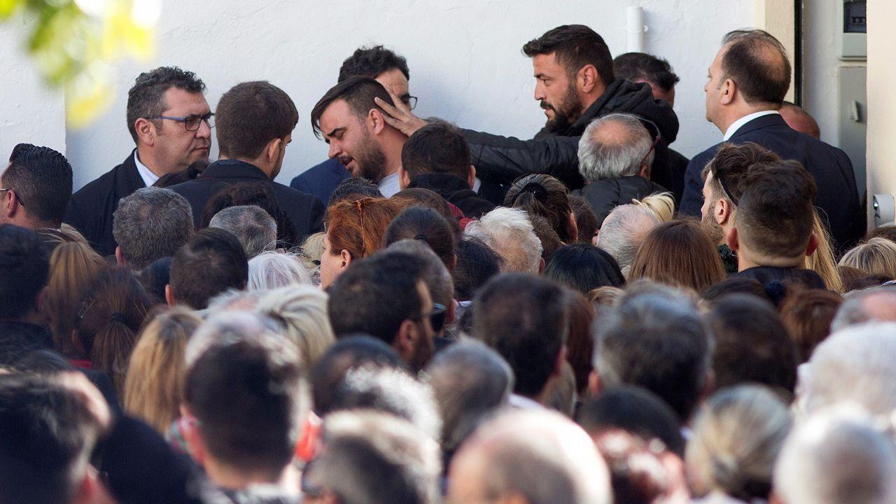 Entierran a Julen en el cementerio malagueño de El Palo.Ibrahima, durante el partido ante Osasuna