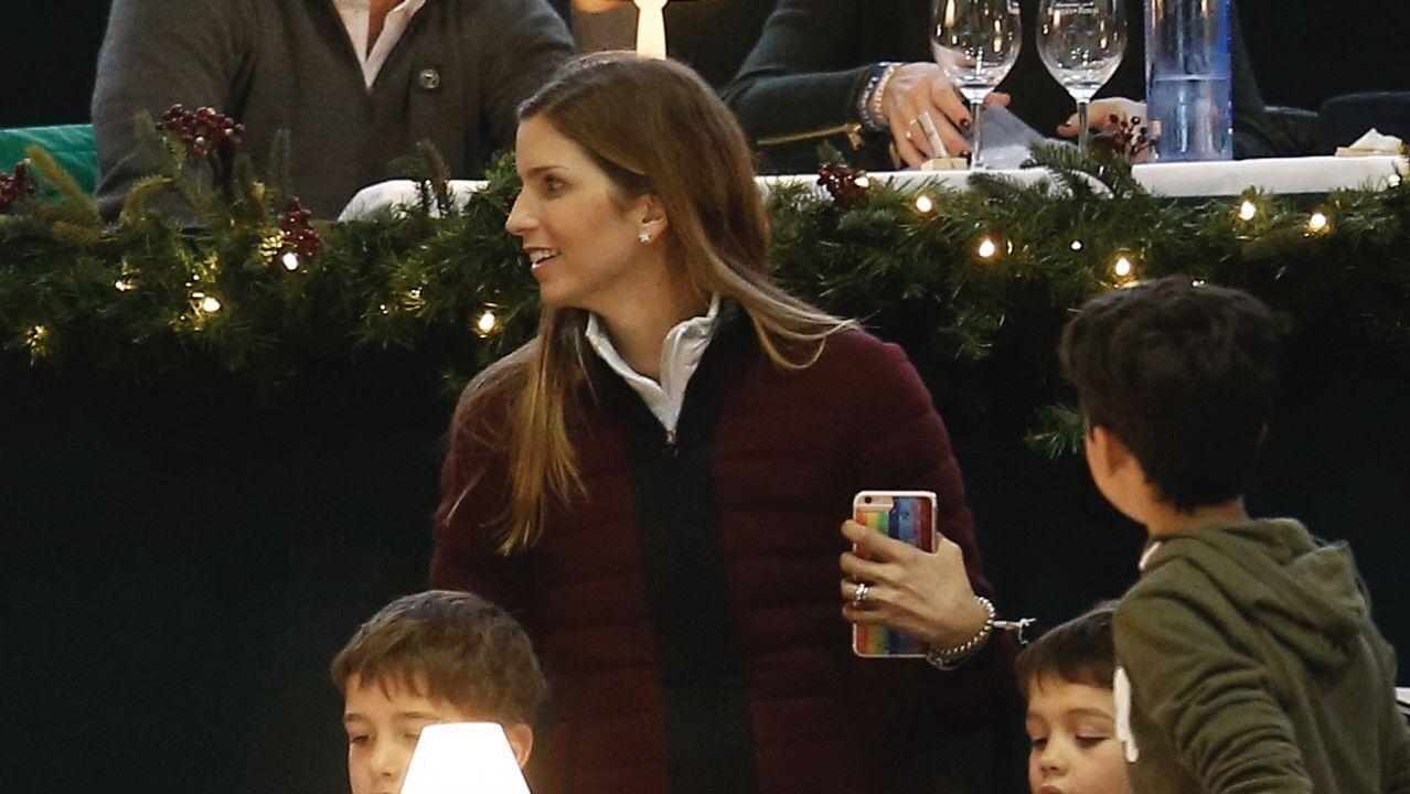 Margarita Vargas, esposa de Luis Alfonso de Borbón, es otro de los rostros conocidos que se pueda ver participando en las pistas de Casas Novas