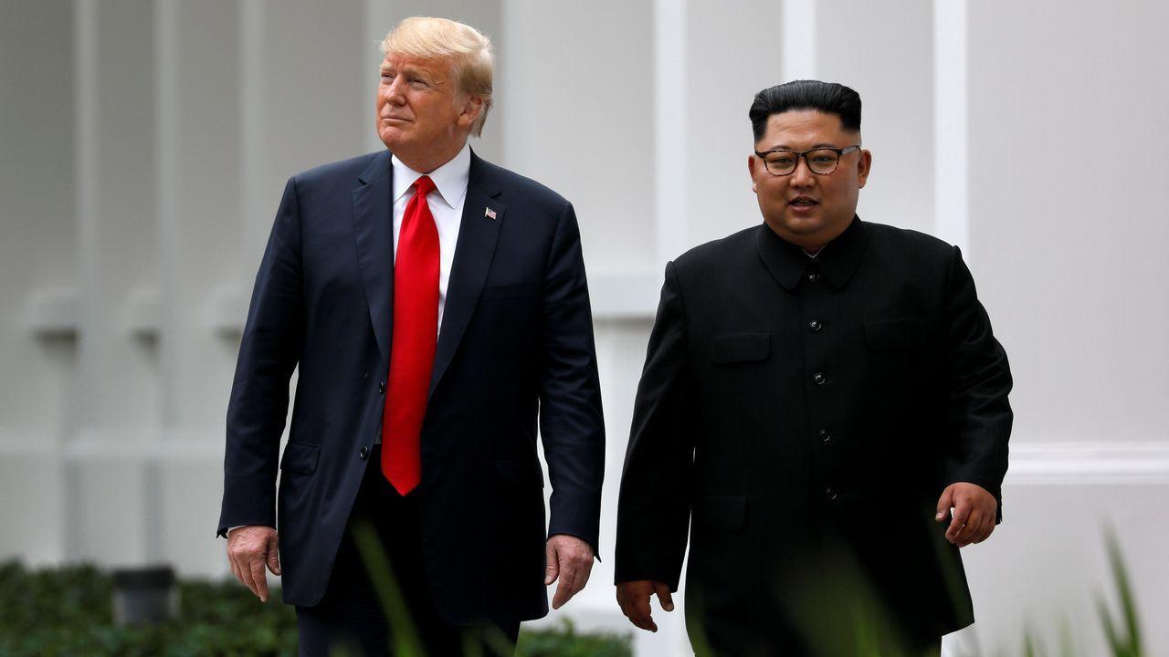 Encuentro historico entre Donald Trump y Kim Jong-un