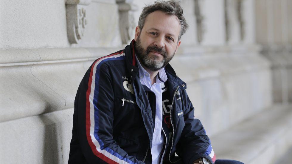 Luís Davila levou os personaxe do Bichero ao Couto.