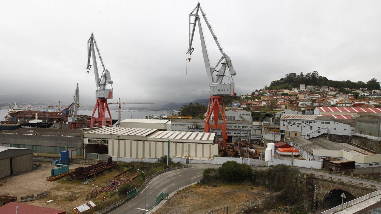 Clientes en las terrazas de Vigo