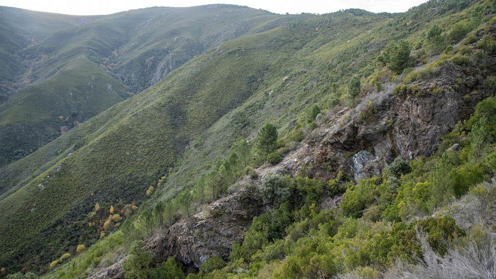 Una visita a la mina del Burato do Lobo