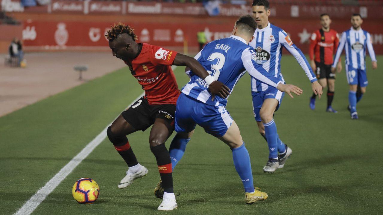Las fotos del Deportivo - Mallorca.Imagen del partido del pasado 27 de mayo en Riazor entre el Deportivo y el Mallorca que acabó con triunfo local por 1-0