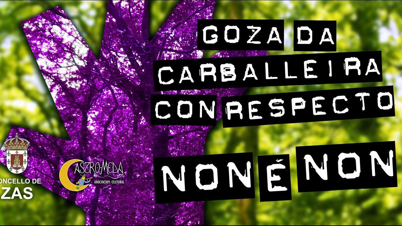 Carlos Núñez brilló en Dombate