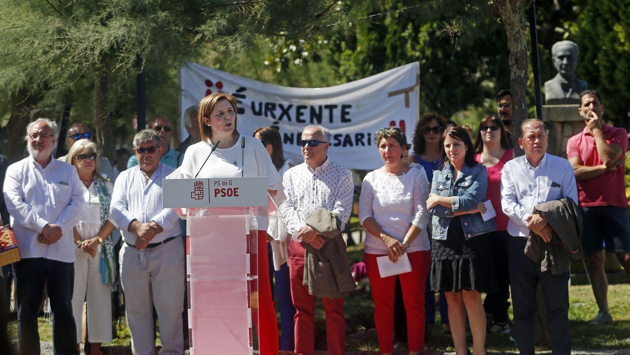 Acto central del PSOE en Rianxo por el Día de Galicia.