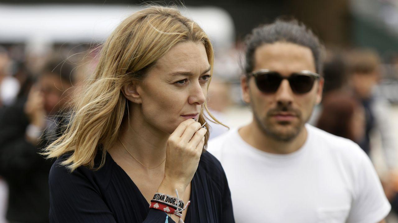 Marta Ortega y Carlos Torreta
