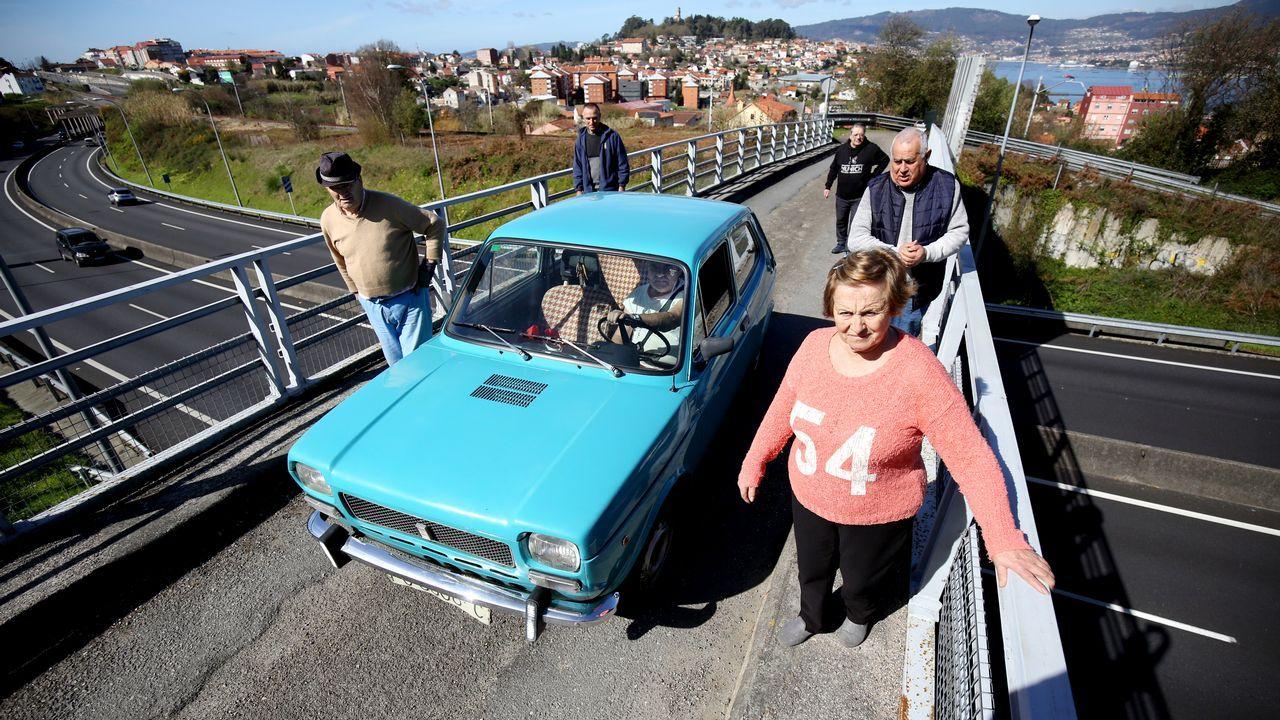 Choque en Teo.La ampliación del puente de Rande es una las obras que se financiarán con el aumento de los peajes