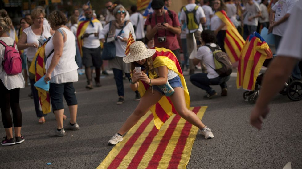 La BBC desnuda las contradicciones del independentismo catalán