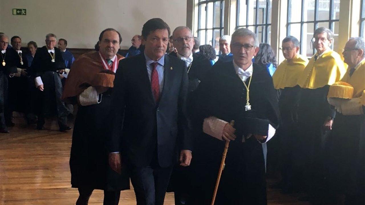 .Javier Fernández junto a Santiago García Granda