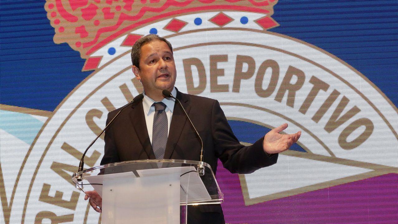 En directo, comparecencia de Tino Fernández