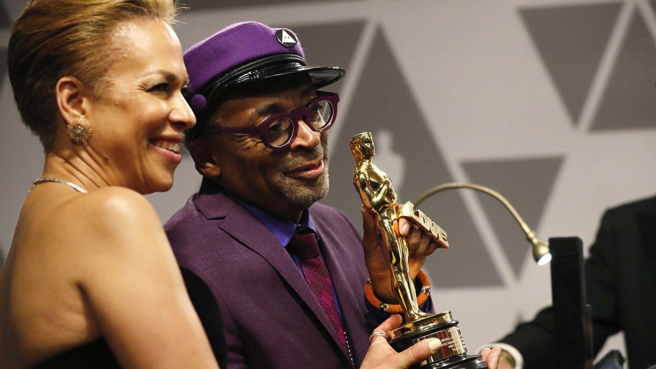 Spike Lee y su mujer Tonya Lewis Lee