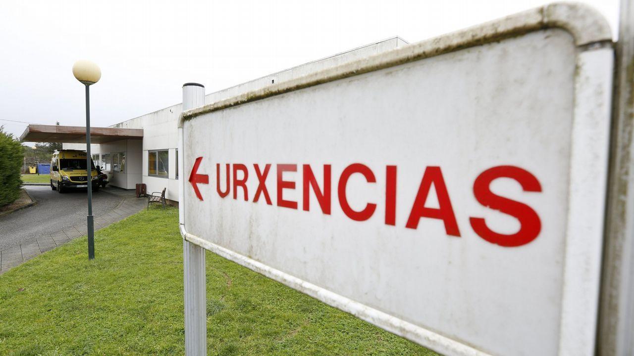 Un grupo de los médicos extracomunitarios que se han quedado sin contrato en el Sergas