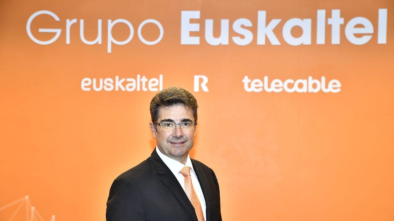 José Miguel García, nuevo consejero delegado del grupo Euskaltel