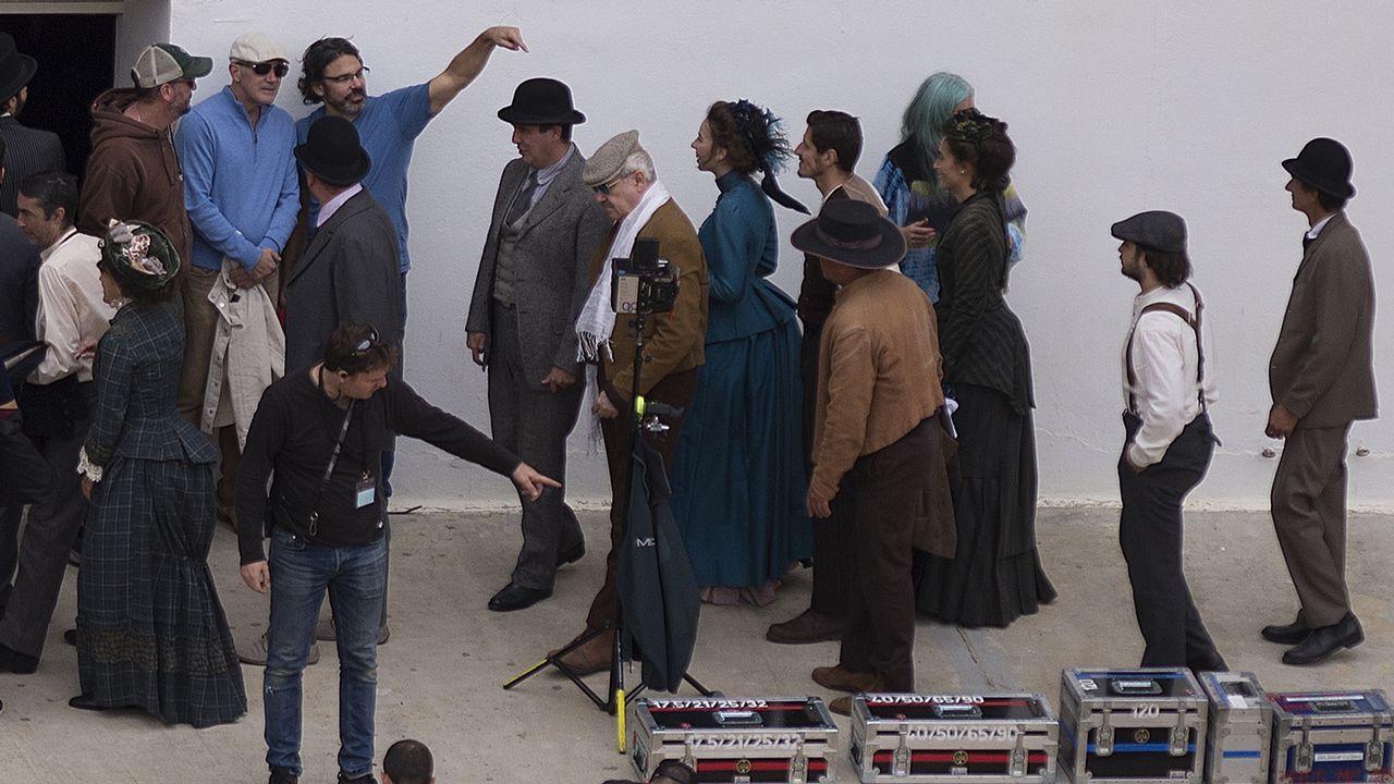 Rodaje en Málaga de «Genius: Picasso», serie en la que Antonio Banderas da vida al pintor malagueño