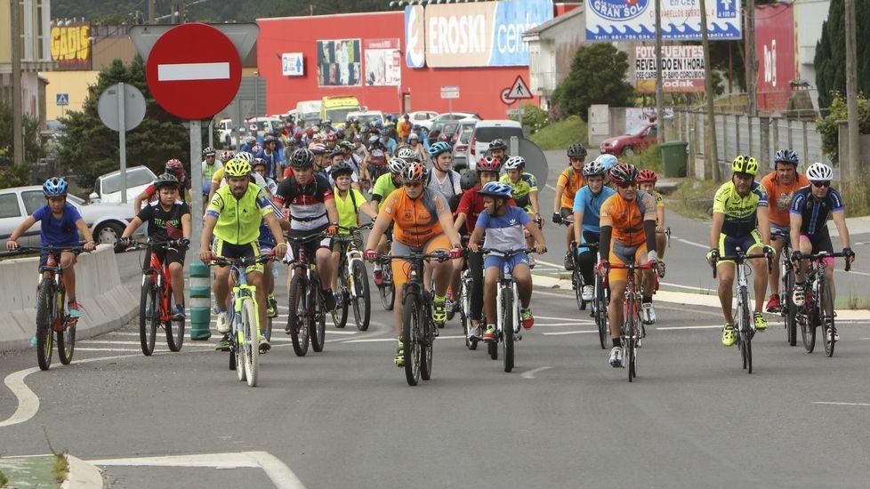 El Día da Bicicleta da Cee, en imágenes.