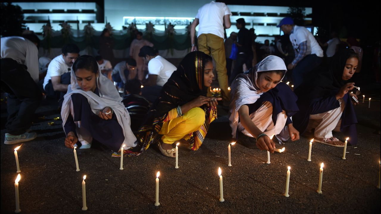 Celebración de la Hora del Planeta en Islamabad (Paquistán)