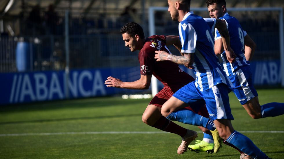 Las imágenes del partido entre el Pontevedra y el Sanse