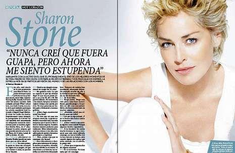 Los galardonados en los Globos de Oro.Los duques de Palma abren la revista, que incluye además una entrevista a Sharon Stone.